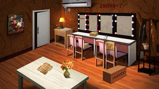 密室逃脱比赛系列官方正版4逃出神秘豪宅房间无限提示版截图3