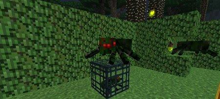 我的世界树篱蜘蛛属性详情图片