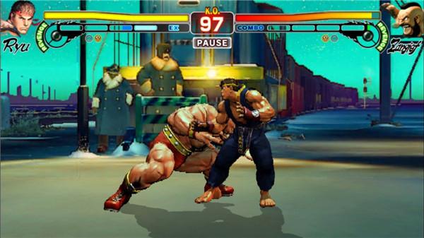 街�^霸王4:冠�版(Street Fighter IV: Champion Edition)�荣�版截�D3