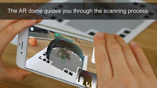 Qlone实物3D扫描软件截图1