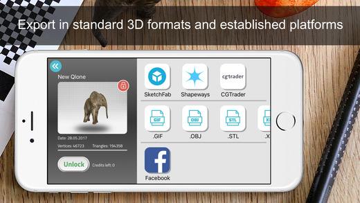 Qlone实物3D扫描软件截图3