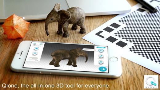 Qlone实物3D扫描软件截图5