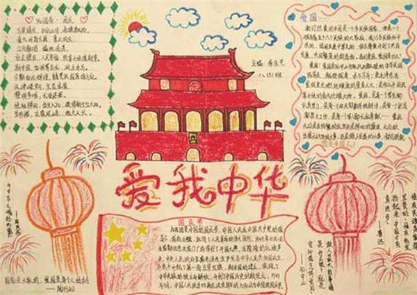 一国庆节小学生手抄报图片大全手机版v1.0图片