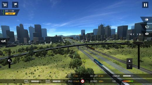 火�模�M器PRO2018(Train Simulator PRO 2018)iOS版截�D1