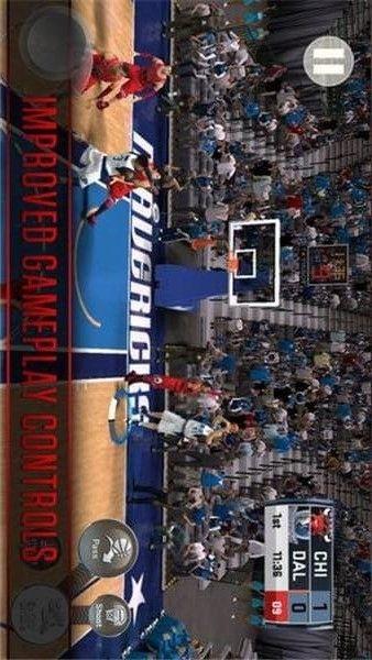NBA 2K18手游中文版截�D2