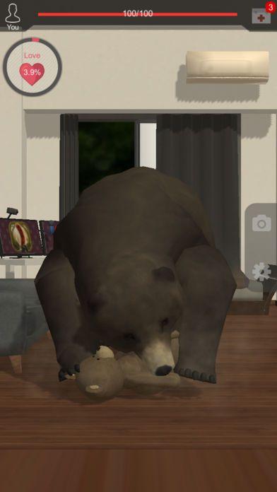 与熊同居~恐怖的熊养成游戏~iOS版