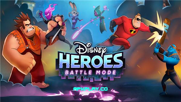 迪士尼英雄:战斗状态(Disney Heroes:Battle Mode)iOS版截图1