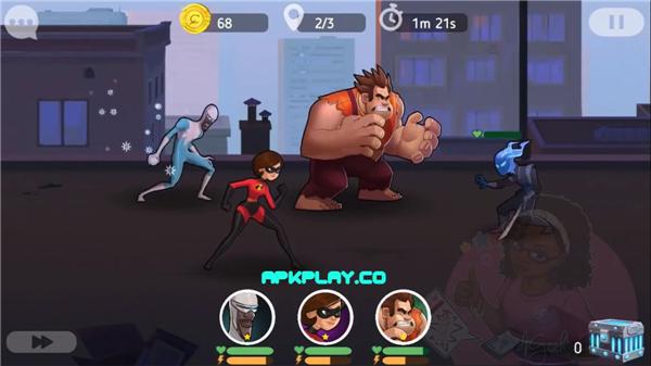 迪士尼英雄:战斗状态(Disney Heroes:Battle Mode)iOS版截图3