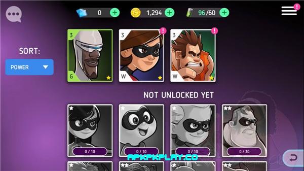 迪士尼英雄:战斗状态(Disney Heroes:Battle Mode)iOS版截图4