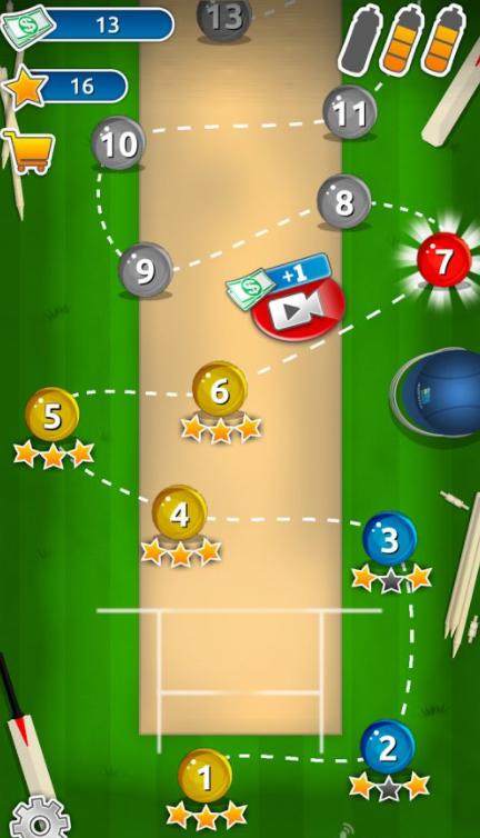 板球超级巨星的游戏截图 1