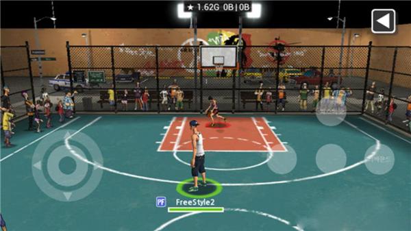 街头篮球2的游戏截图 3