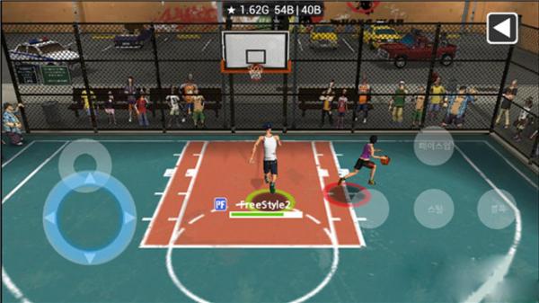 街头篮球2的游戏截图 4