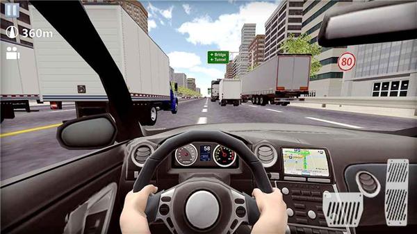 速度街道赛车的游戏截图 4