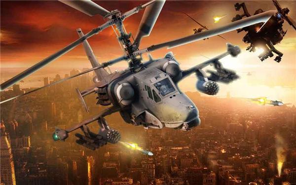 武装直升机战场模拟的游戏截图 3