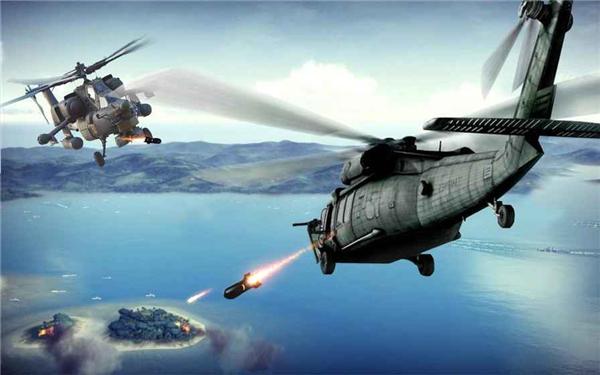武装直升机战场模拟的游戏截图 6
