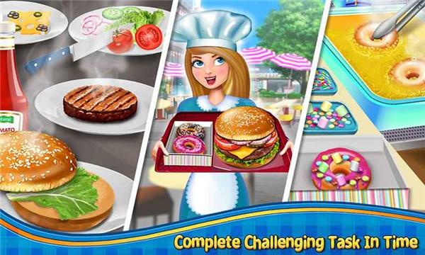 疯狂的汉堡的游戏截图 1