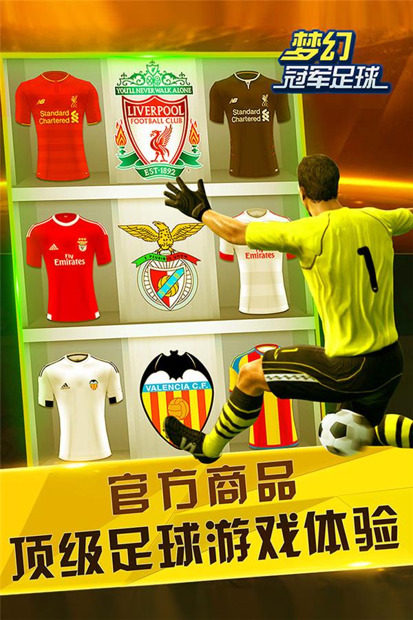 梦幻冠军足球的游戏截图 4