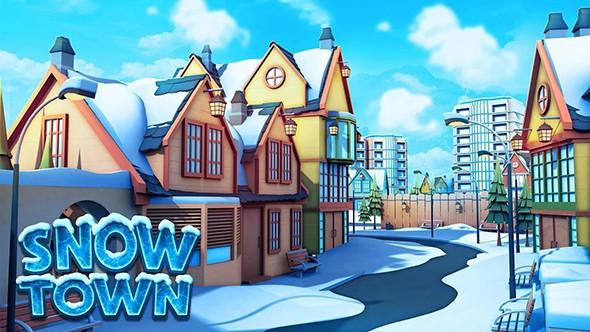 雪城:冰雪村�f世界的游�蚪�D 4