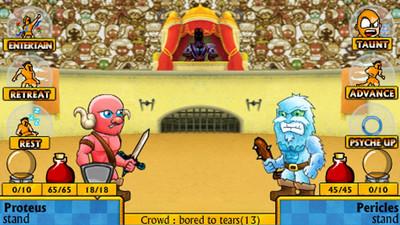 剑刃和凉鞋的游戏截图 2