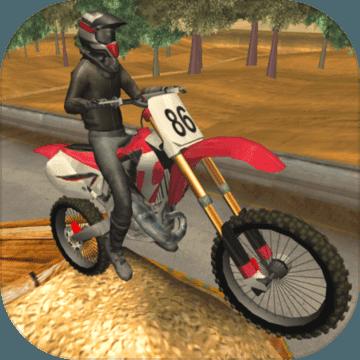 摩托竞技赛跑