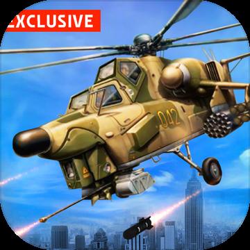 武装直升机战场模拟