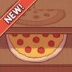 可口的披萨