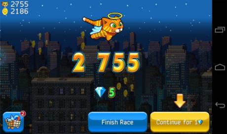 城市猫超级玛丽版的游戏截图 1