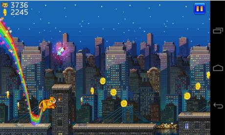 城市猫超级玛丽版的游戏截图 2