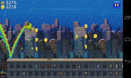 城市猫超级玛丽版的游戏截图 3