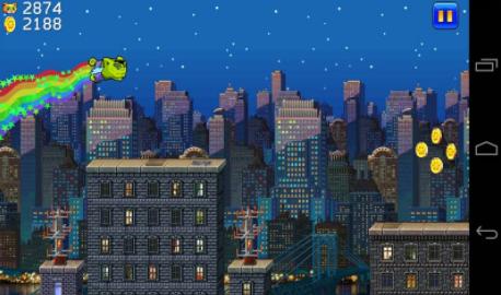 城市猫超级玛丽版的游戏截图 4