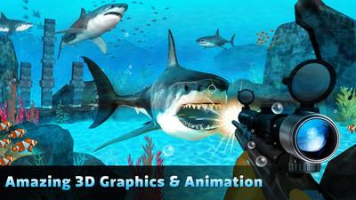 饥饿鲨捕猎的游戏截图 1