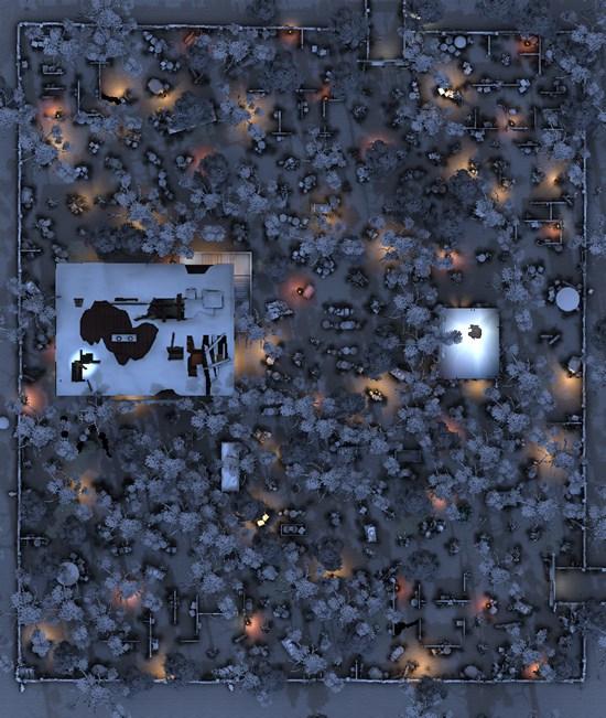 第五人格雪地军工厂地图平面图详解 /h1>