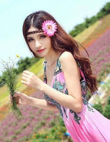 妖媚波西米亚情人的花花裙