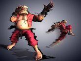 经典格斗游戏角色造型大改造