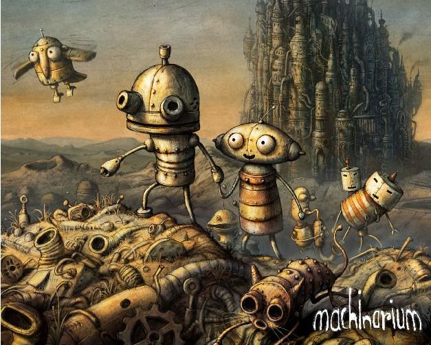 《机械迷城》全攻略原画图片欣赏