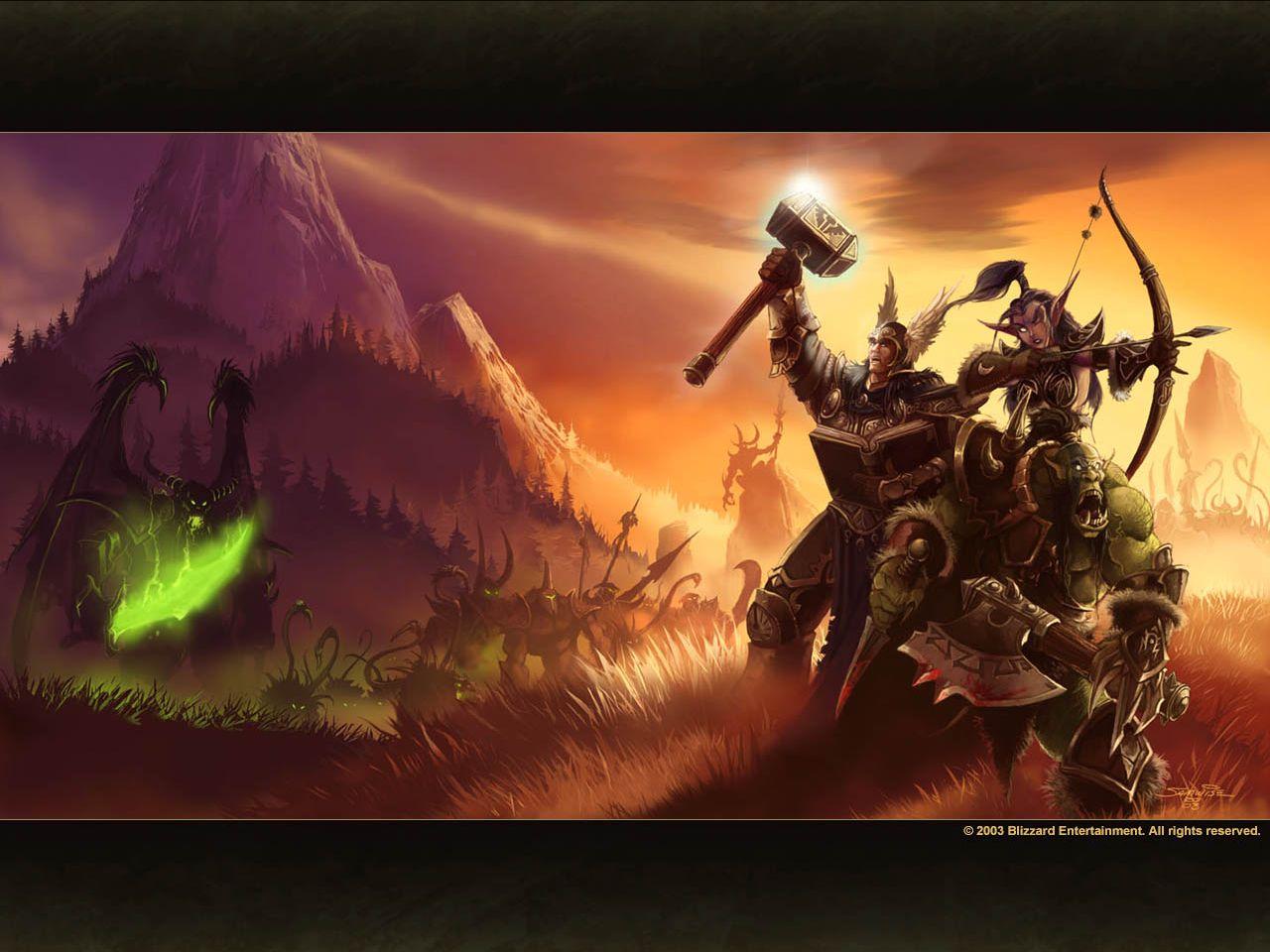 《魔兽争霸3》游戏壁纸(8)