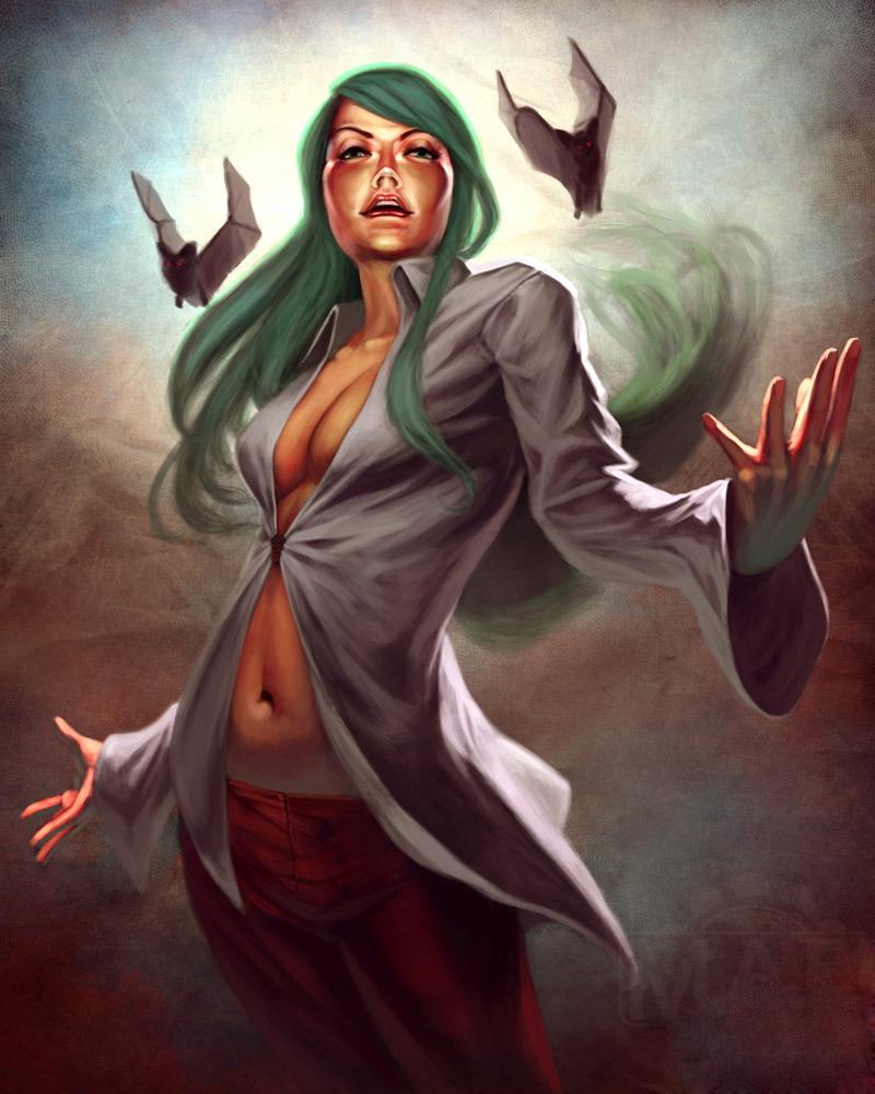 美国艺术家创作格斗游戏女性角色新插画 原