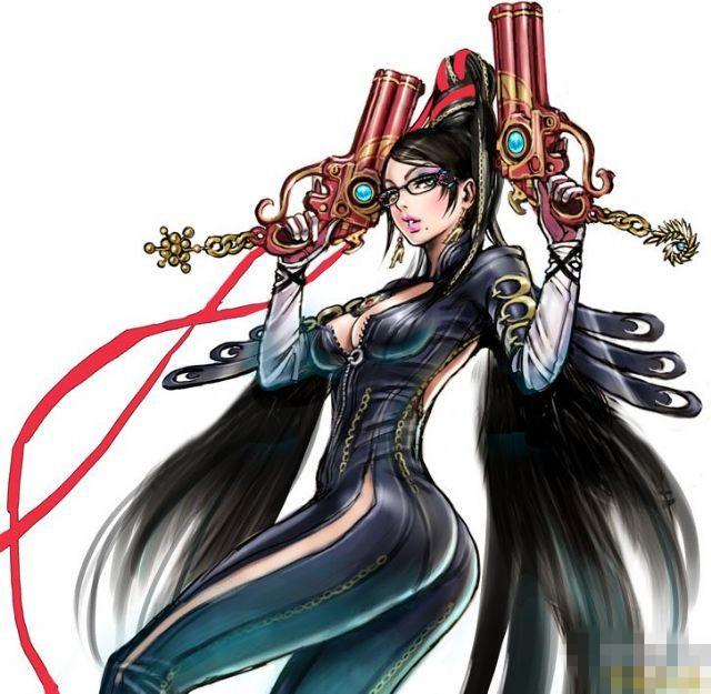 《猎天使魔女》贝优妮塔性感同人画欣赏(2)