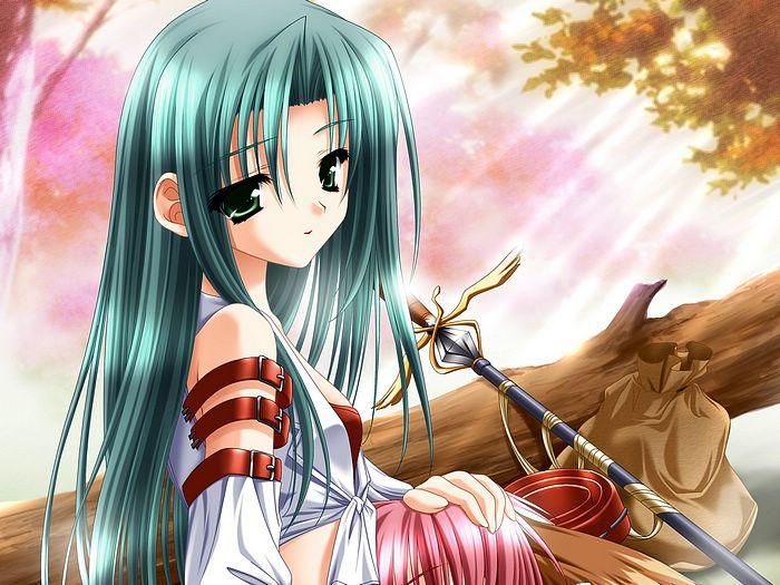高清日本动漫美女 动漫图片