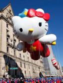 纽约感恩节大游行,超大卡通天上天上狂欢