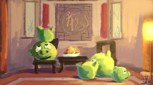 可爱《愤怒的小鸟》动画欣赏(10)