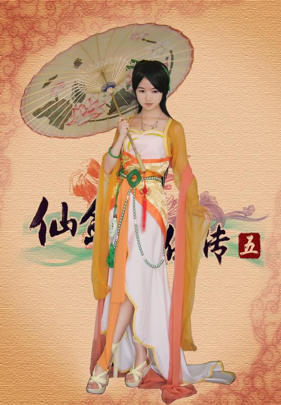 仙剑5唐雨柔之玩家cos版