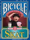单车扑克斯卡特纸牌