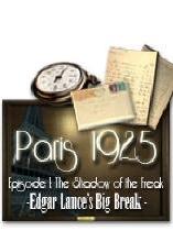 巴黎1925第一章:迷雾暗影