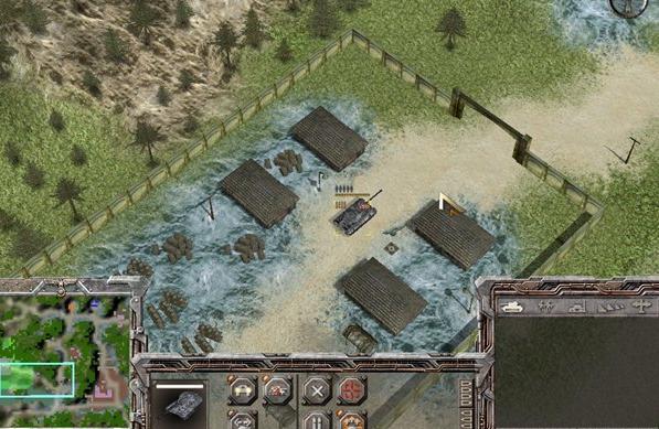 二战西线战场地图