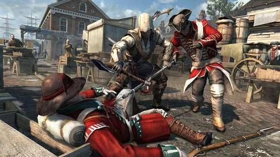 的战斗部分包含各种充满魄力的特 那就是作为一个依然靠飞镖和斧头