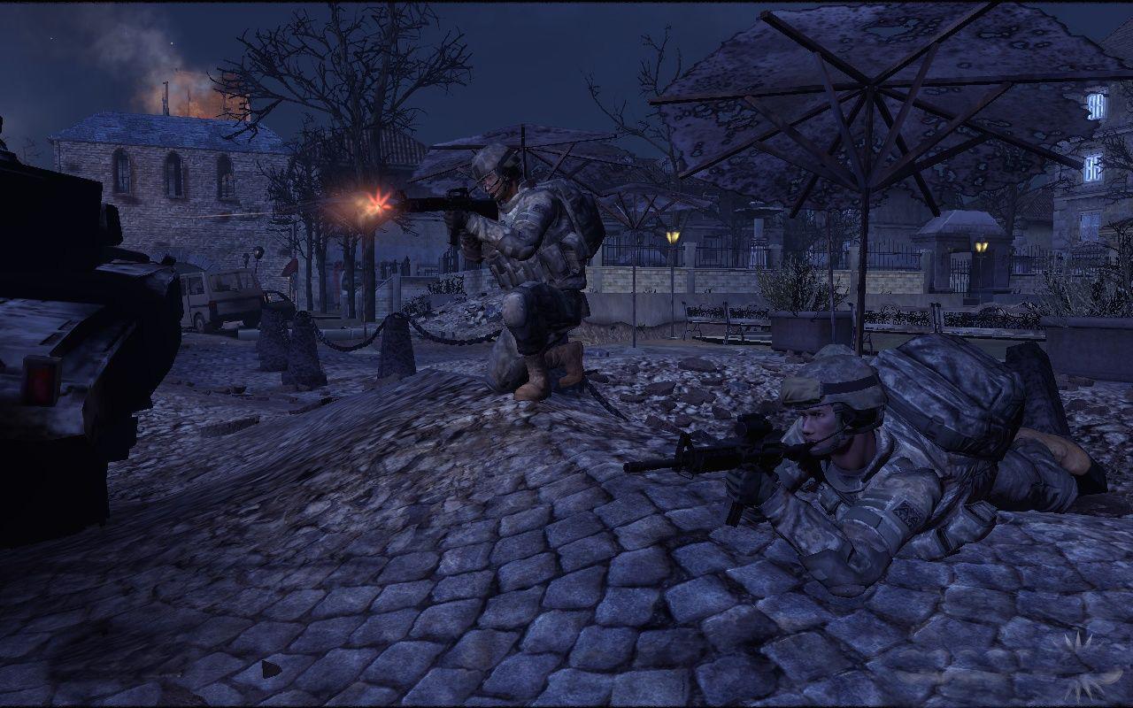 美国陆军3_美国陆军免费游戏《美国陆军3》开发者军训实