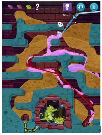 《鳄鱼小顽皮爱洗澡2》关卡14攻略图文_攻略秘籍15攻略罗马帝国逃出图片