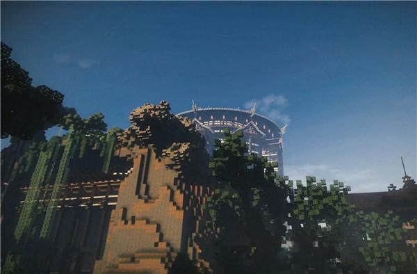 《我的世界》三亚现实地形打造红树林大酒店