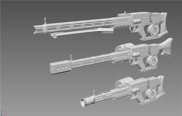 涡轮步枪mod设计图抢先看